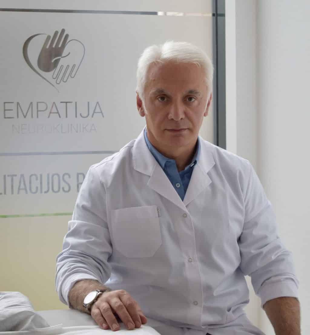 Gija Amkoladze Refleksoterapeutas-manualines terapijos gydytojas